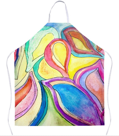 Bright Leaves Apron