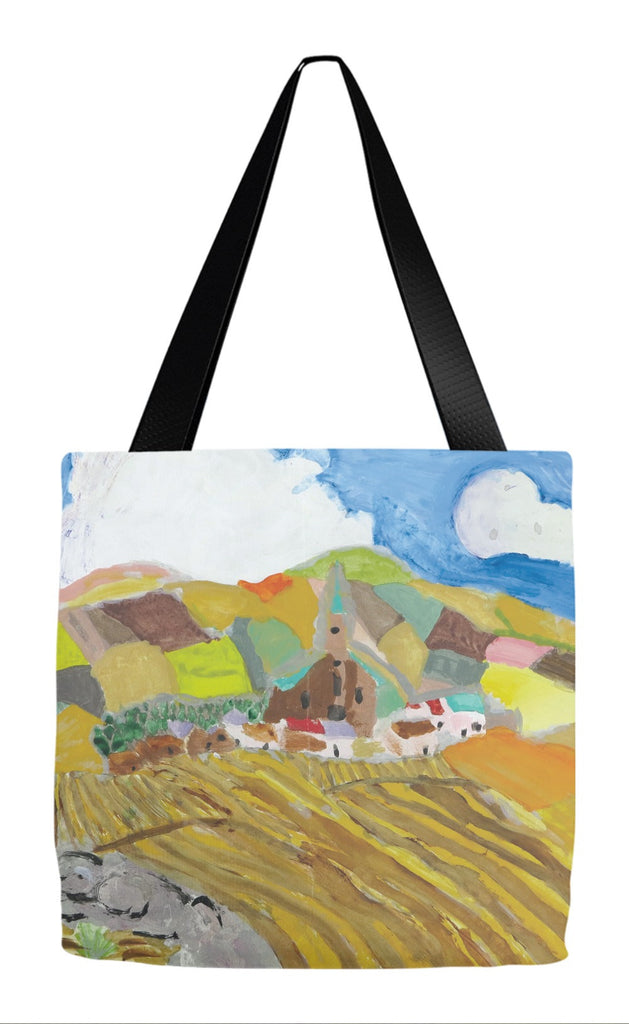Patchwork Fields Tote Bag