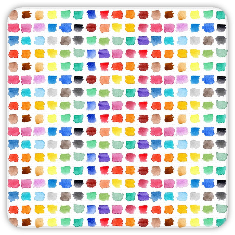 Watercolour Palette Coasters