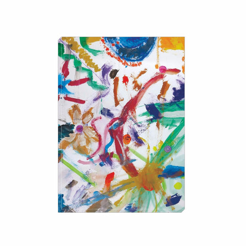 Bright Abstract Wrapped Canvas