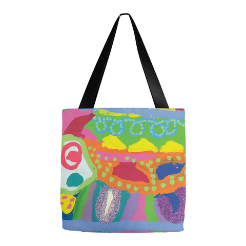 Abstract Glitter Animal Tote Bag