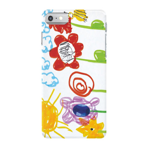 Bumble Bee Flowers Phone Case
