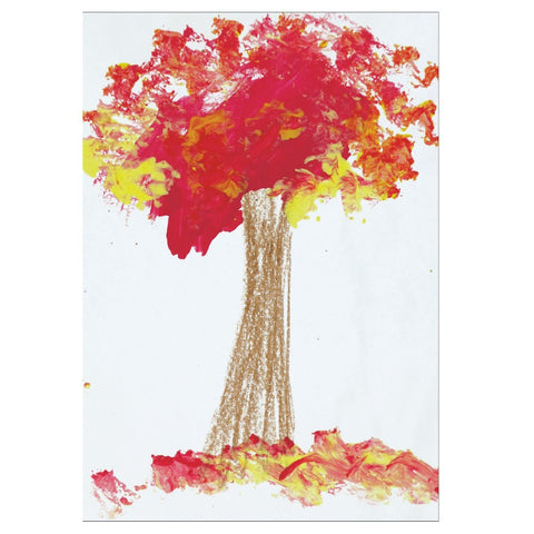 Red Tree Note Cards
