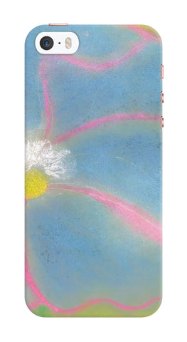 Blue Pastel Flower Phone Case