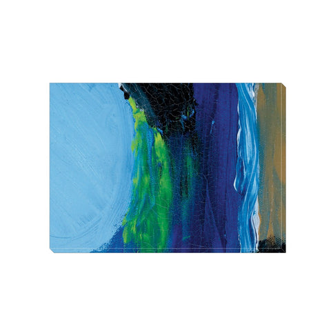 Blue Night Wrapped Canvas