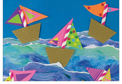 Boats Note Cards