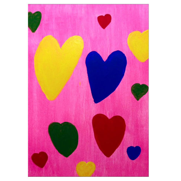 Hearts Note Cards