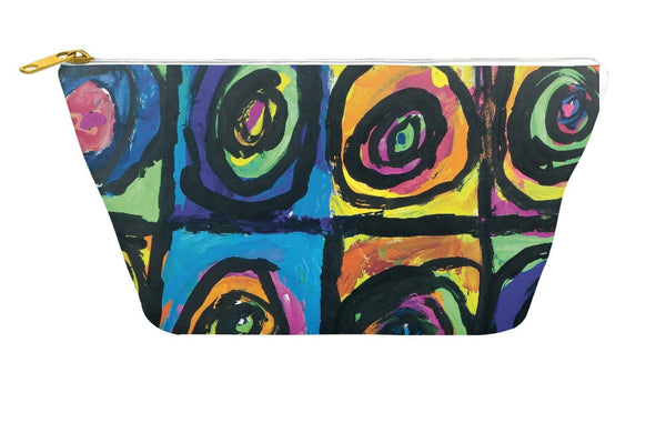 Bright Circles Accessory Pouch