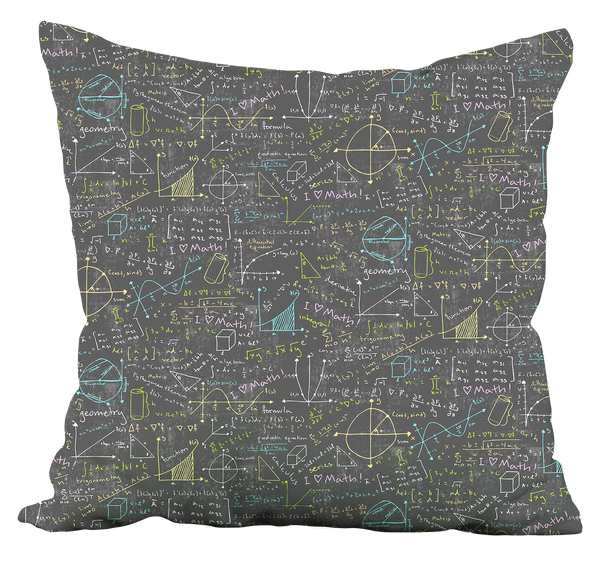 Math Lessons Pillow
