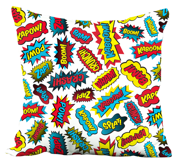 Super Words Pillow