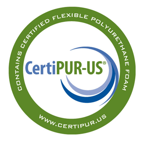 CertiPUR-US symbol of quality