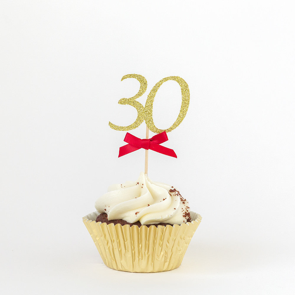 Birthday Cupcake Toppers For Adults