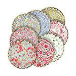 Assorted Liberty Small Plates - floral design