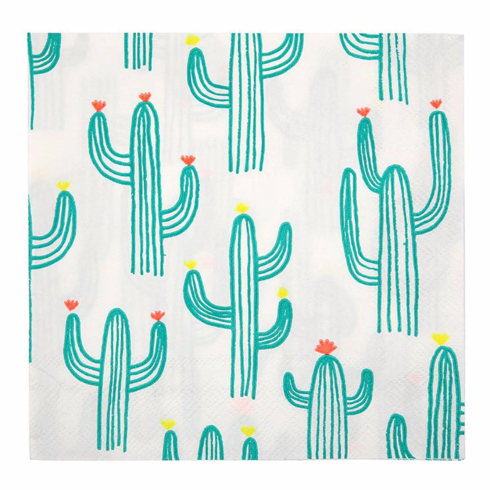 Cactus Party Napkins - First birthday Inspired by Alma - Inspired by Alma Inspired by Alma - Inspired by Alma  Tableware - Party decorartions, cake toppers, cupcake topper, confetti, iron on, outfit, straws, decor, first birthday party decorations.,