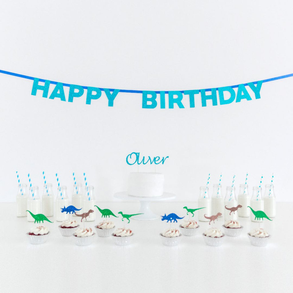 Birthday Pack - Dinosaur Theme - First birthday Inspired by Alma - Inspired by Alma Inspired by Alma - Inspired by Alma  Birthday pack - Party decorartions, cake toppers, cupcake topper, confetti, iron on, outfit, straws, decor, first birthday party decorations.,