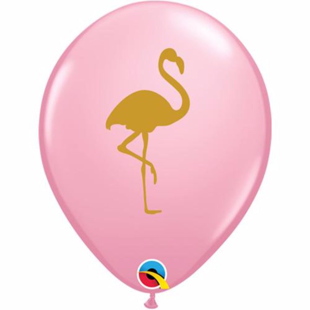 Flamingo Themed Party Balloons | Pink and Gold - First birthday Inspired by Alma - Inspired by Alma Inspired by Alma - Inspired by Alma  Balloons - Party decorartions, cake toppers, cupcake topper, confetti, iron on, outfit, straws, decor, first birthday party decorations.,
