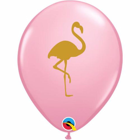 Flamingo Themed Party Balloons