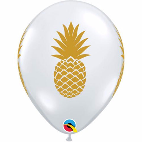Pineapple Themed Party Balloons