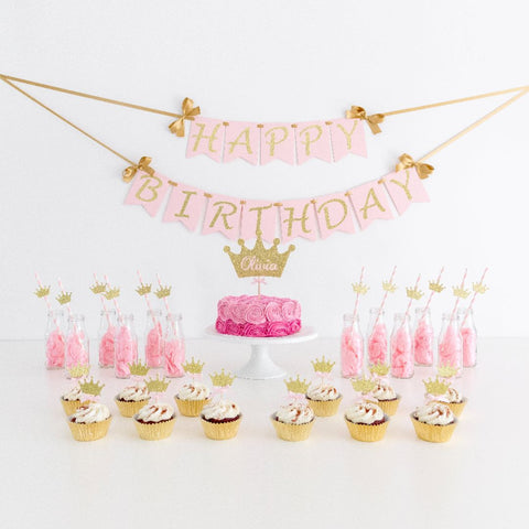 Birthday Pack - Princess Theme Party Decorations