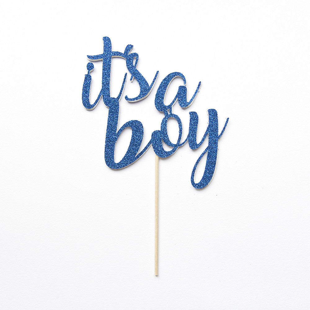 "Baby Shower Cake Topper | Gender Reveal ""It's a boy"" - First birthday Inspired by Alma - Inspired by Alma Inspired by Alma - Inspired by Alma  Cake topper - Party decorartions, cake toppers, cupcake topper, confetti, iron on, outfit, straws, decor, first birthday party decorations.,"