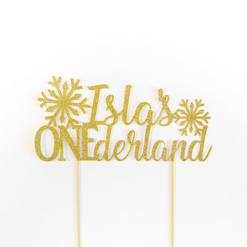 Winter ONEderland First Birthday Custom Name Birthday Cake Topper - First birthday Inspired by Alma - Inspired by Alma Inspired by Alma - Inspired by Alma  Straws - Party decorartions, cake toppers, cupcake topper, confetti, iron on, outfit, straws, decor, first birthday party decorations.,