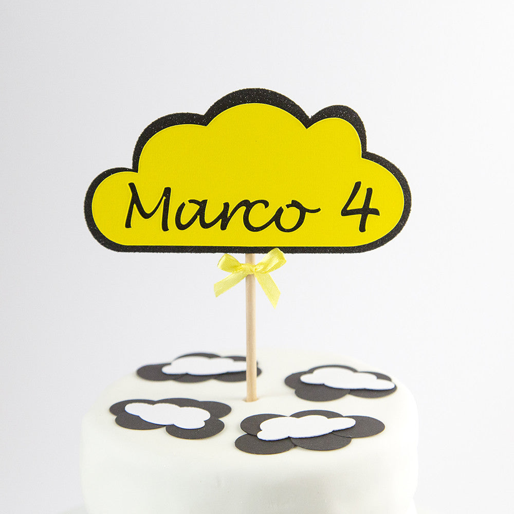 Cake Topper - Cloud shaped Age & Name - First birthday Inspired by Alma - Inspired by Alma Inspired by Alma - Inspired by Alma  Cake topper - Party decorartions, cake toppers, cupcake topper, confetti, iron on, outfit, straws, decor, first birthday party decorations.,