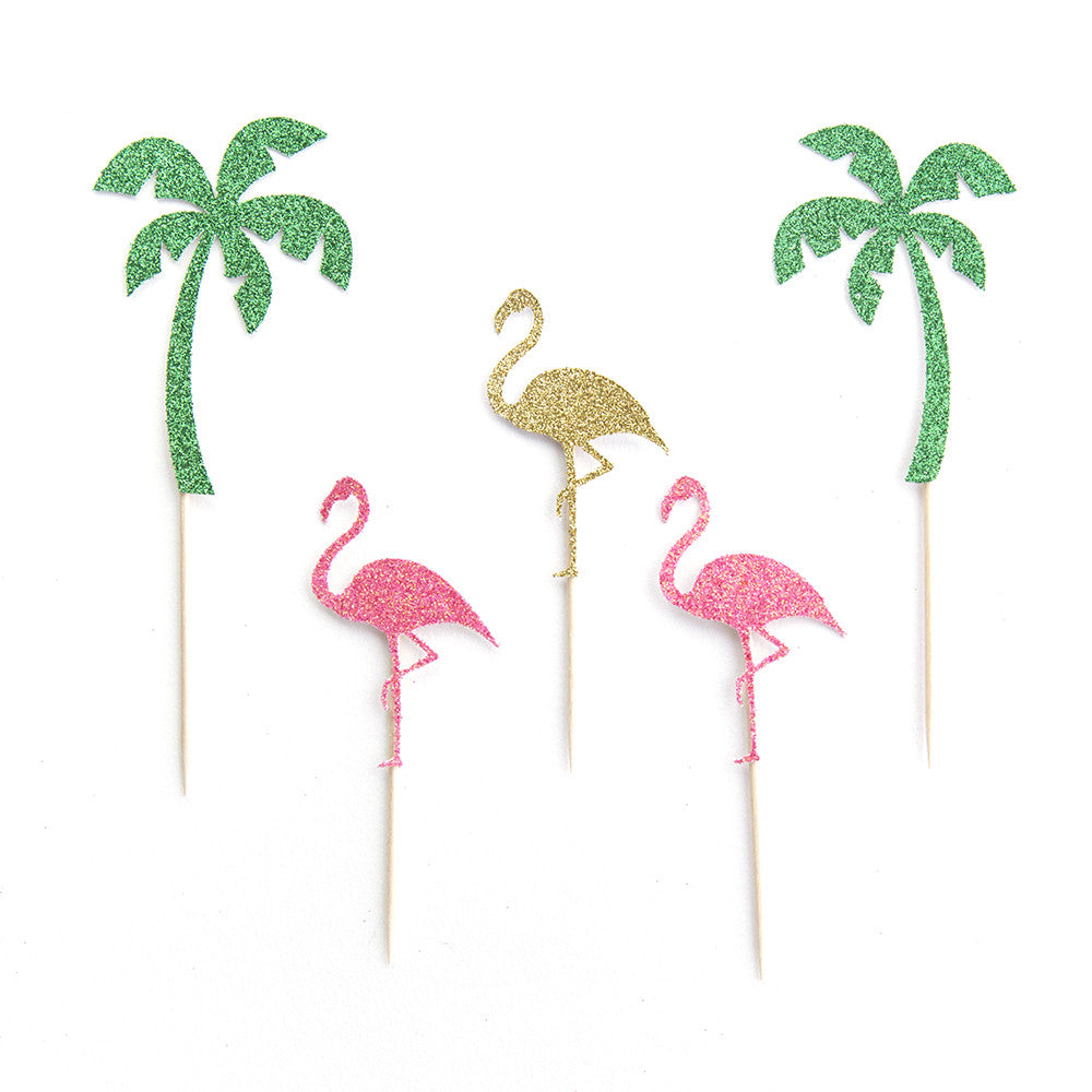 Flamingo - Birthday Cupcake Toppers - First birthday Inspired by Alma - Inspired by Alma Inspired by Alma - Inspired by Alma  Cupcake toppers - Party decorartions, cake toppers, cupcake topper, confetti, iron on, outfit, straws, decor, first birthday party decorations.,