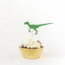 Birthday Pack Dinosaur Green Cake Topper