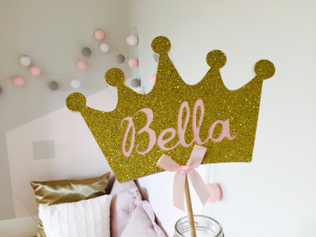 Pink & Gold Glitter Party Decorations – Inspired by Alma