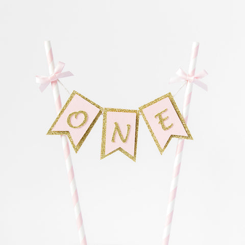 First Birthday Cake Topper Banner | Custom age available - First birthday Inspired by Alma - Inspired by Alma Inspired by Alma - Inspired by Alma  Cake topper - Party decorartions, cake toppers, cupcake topper, confetti, iron on, outfit, straws, decor, first birthday party decorations.,