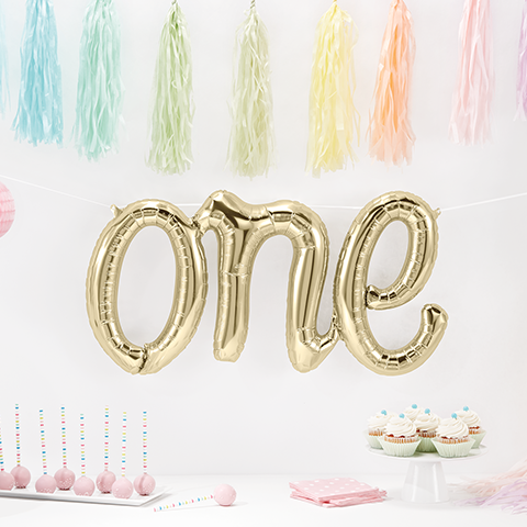 one balloon First Birthday Party Decorations