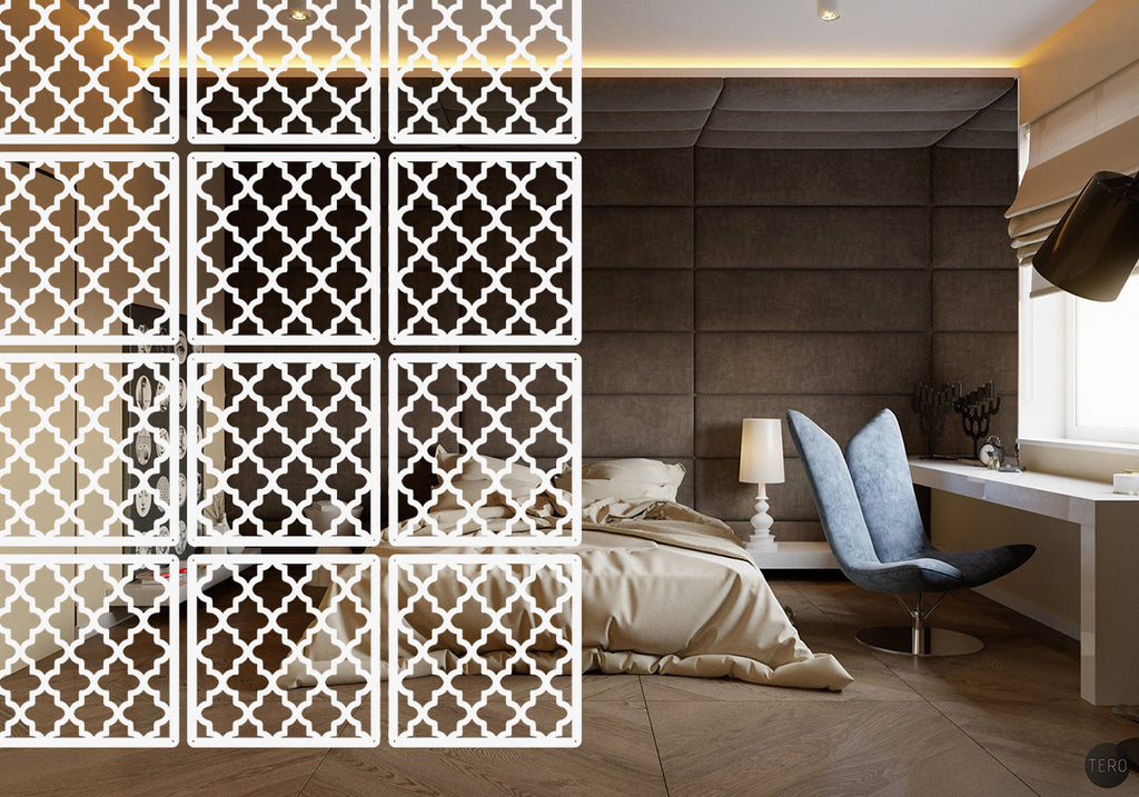 Hanging screen Interior partition - Style Arabic - 12 pieces