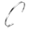 3 Color Personal Engraved Bangle Gift