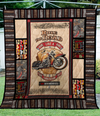 Ride like a King Quilt Blanket
