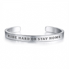 Copy of Ridin' High Livin' Free Silver Bracelet For Motorcycle Lover