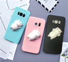 [FreeShip] Cute Soft Silicone 3D Cat Pappy Squishy  for Samsung