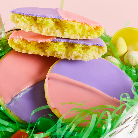 Easter Black & White Cookies