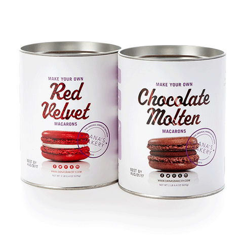 2 Making Kits - Chocolate Molten & Red Velvet + FREE APRON