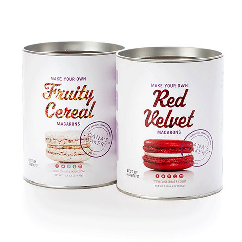 2 Making Kits - Red Velvet & Fruity Cereal + FREE APRON