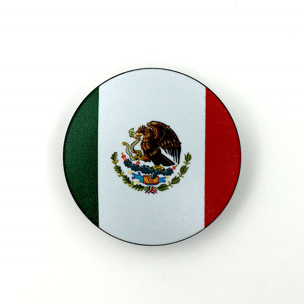 Mexico Stem Cover-  a 2 piece, custom designed bicycle stem caps to replace your current headset cover or stem cap.