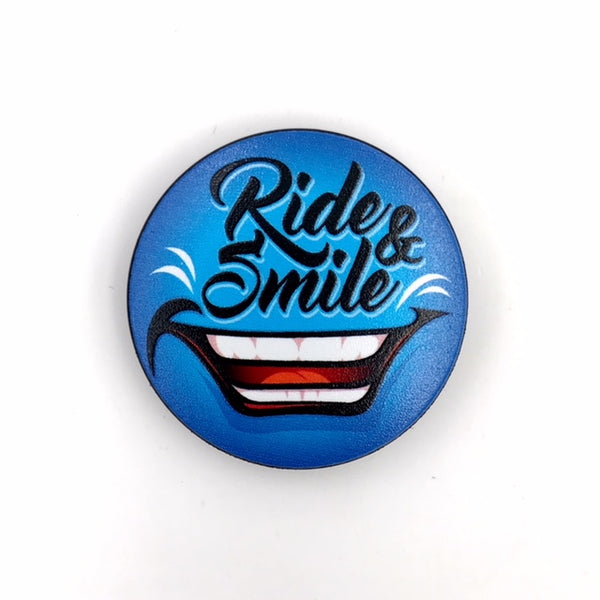 The Ride & Smile Stem Cover