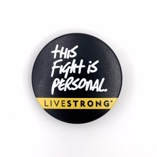 The LIVESTRONG Fight Stem Cover