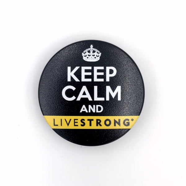 The Keep Calm and LIVESTRONG Stem Cover