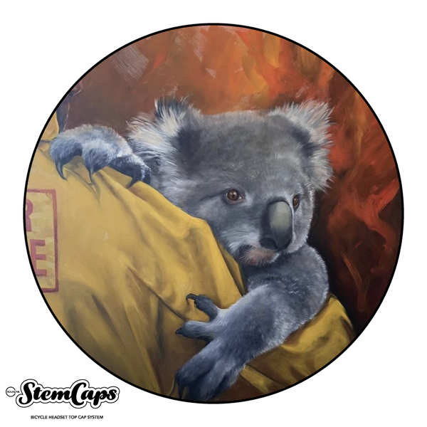 The Brigitte Dawson Koala Stem Cover