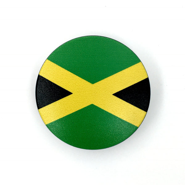 The Jamaica Stem Cover-  a 2 piece, custom designed bicycle stem caps to replace your current headset cover or stem cap.