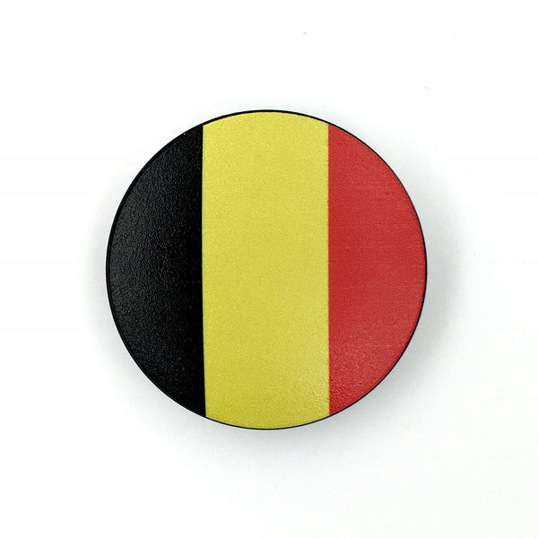 The Belgium Cover-  a 2 piece, custom designed bicycle stem caps to replace your current headset cover or stem cap.