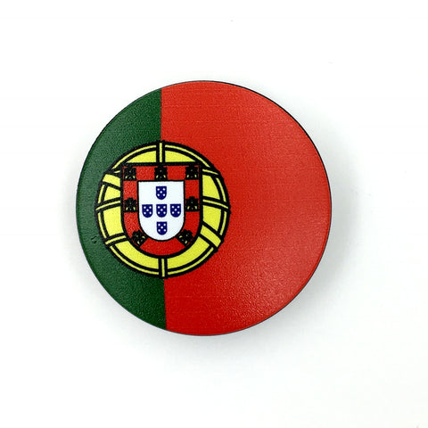 The Portugal Stem Cover- a 2 piece, custom designed bicycle stem caps to replace your current headset cover or stem cap.