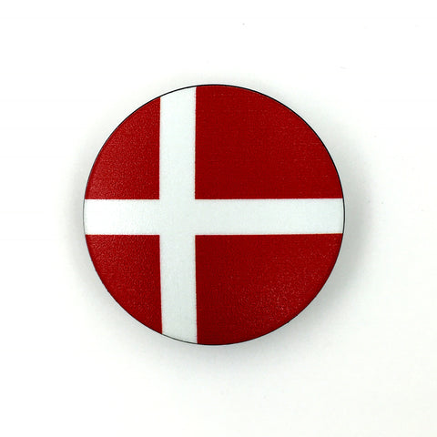 The Denmark Stem Cover-  a 2 piece, custom designed bicycle stem caps to replace your current headset cover or stem cap.
