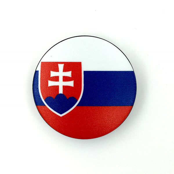 The Slovakia Stem Cover- a 2 piece, custom designed bicycle stem caps to replace your current headset cover or stem cap.