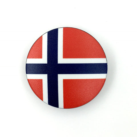 The Norway- a 2 piece, custom designed bicycle stem caps to replace your current headset cover or stem cap.